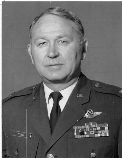 "Colonel Richard  ""Dick"" E. Ring (Ret. USAF)"